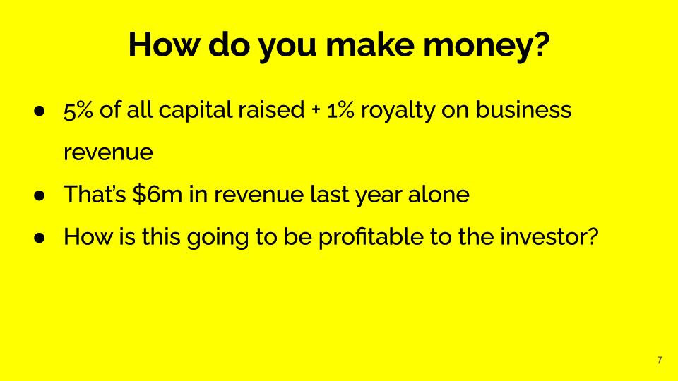 Find Revenue sources