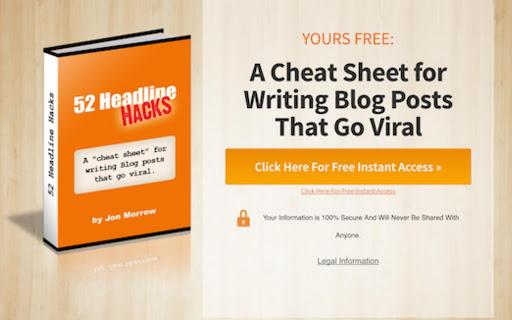 A Cheat Sheet for WA Cheat Sheet for Writing Blog Postsriting Blog Posts