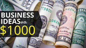 Start a business with 1000, Start a business for 1000, Start a business with 10000, Best business to start with 10k, Business you can start with 1000