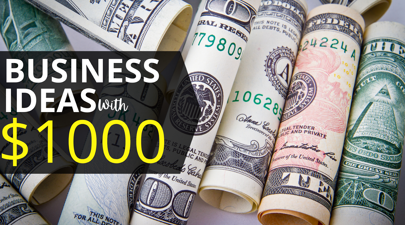 Business Ideas That You Can Start under $1000