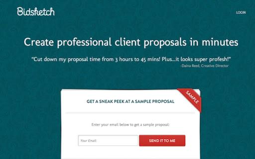 create professional clients proposals