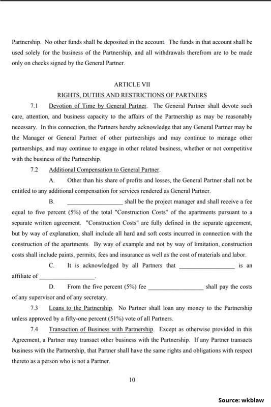 Limited Partnership Agreement-10